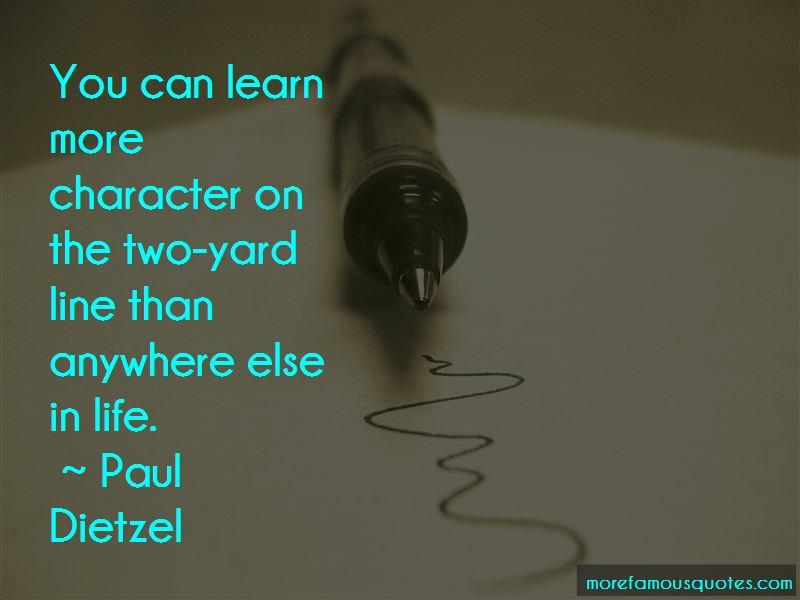 Paul Dietzel Quotes Pictures 4