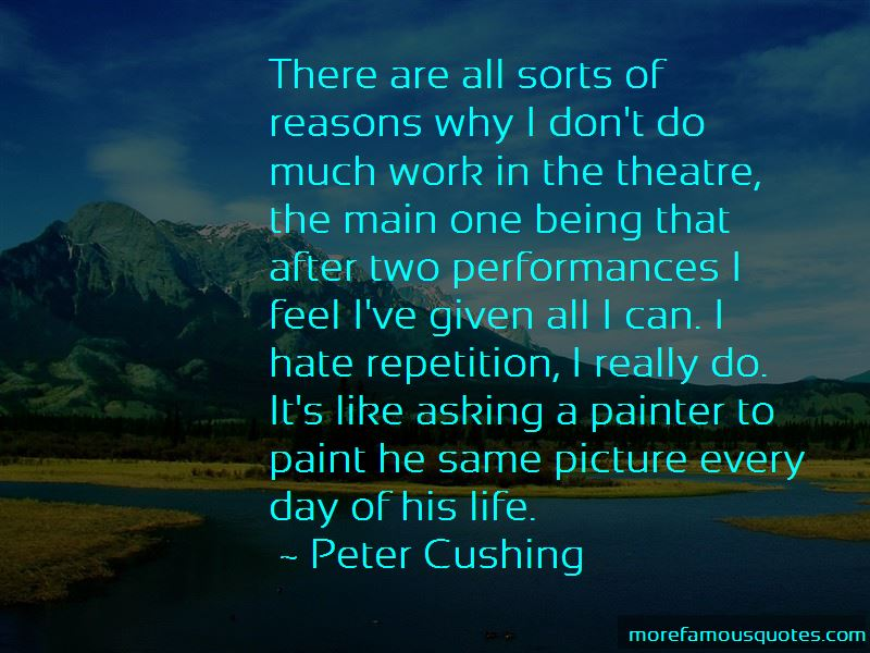 Peter Cushing Quotes Pictures 3