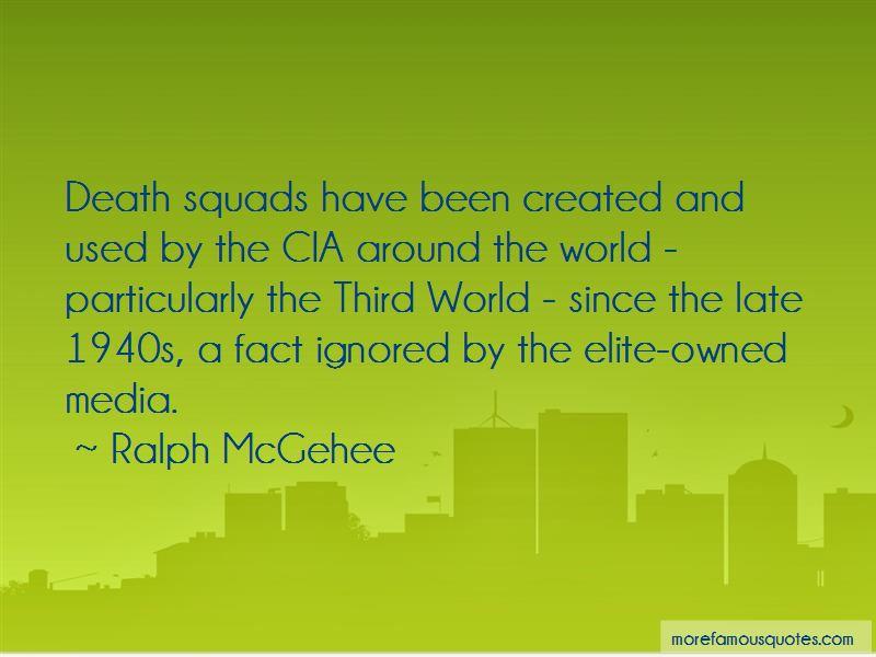 Ralph McGehee Quotes