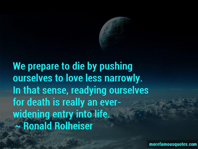 Ronald Rolheiser Quotes Pictures 3
