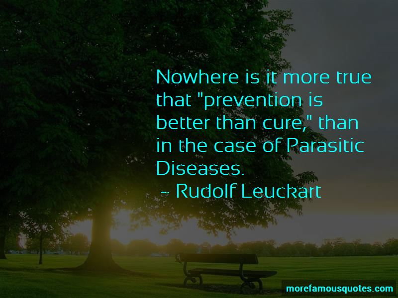 Rudolf Leuckart Quotes