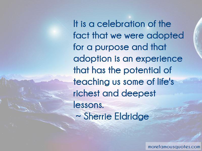 Sherrie Eldridge Quotes