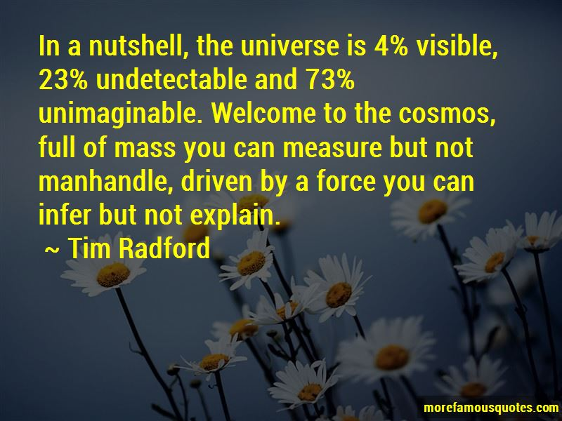 Tim Radford Quotes