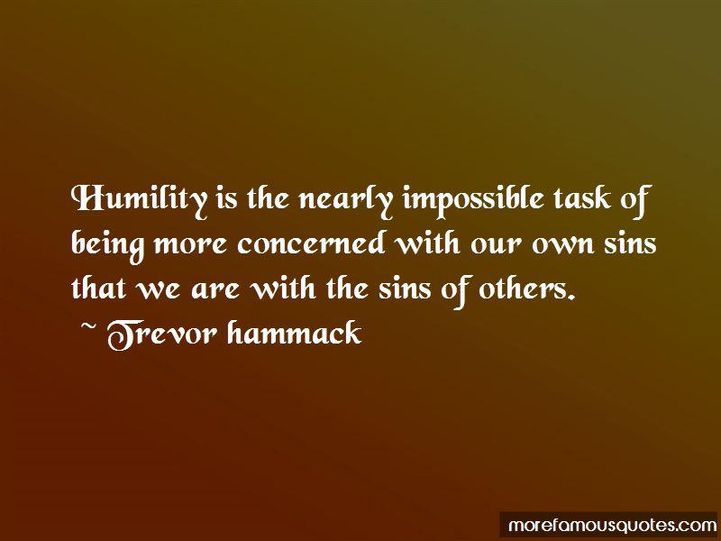 Trevor Hammack Quotes