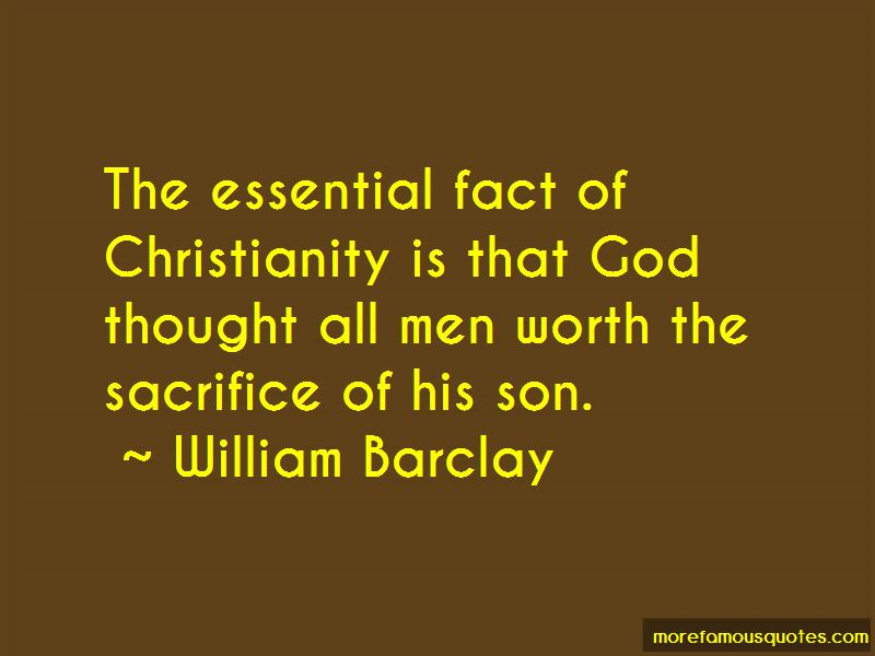 William Barclay Quotes Pictures 4