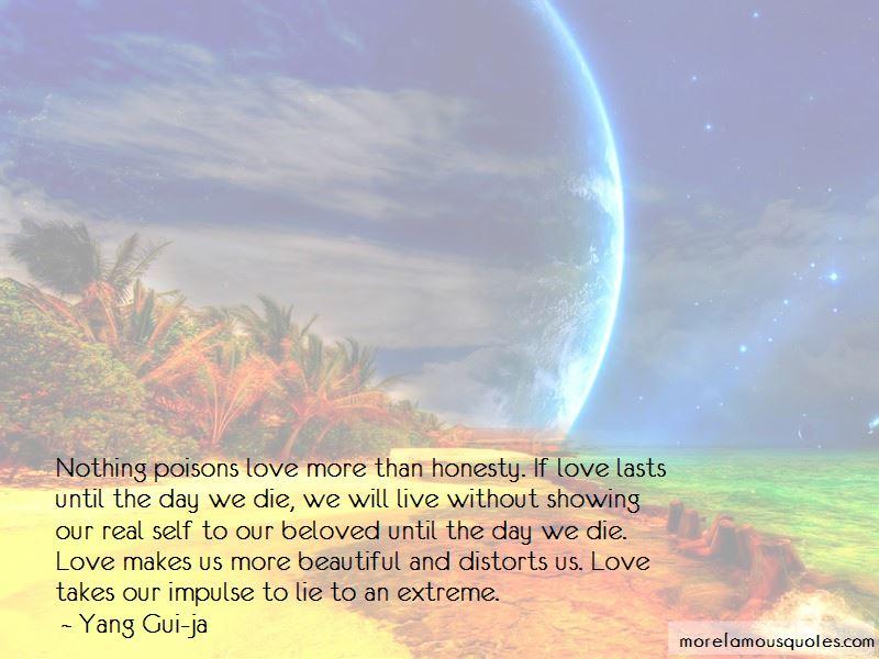 Yang Gui-ja Quotes