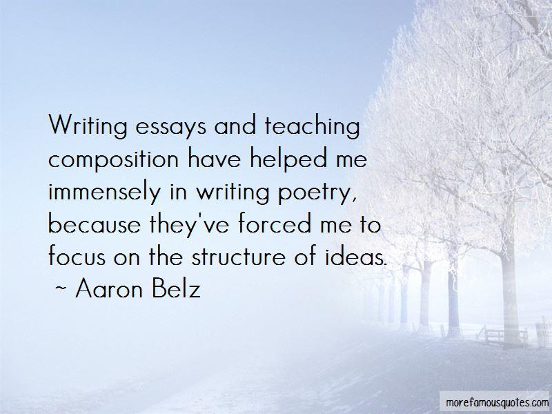 Aaron Belz Quotes Pictures 2
