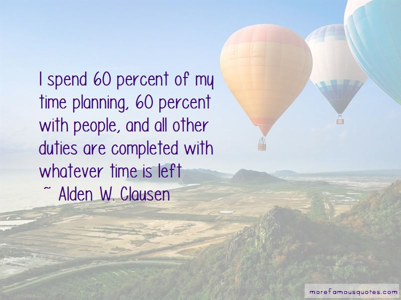 Alden W. Clausen Quotes