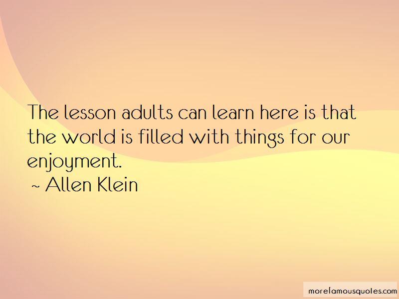Allen Klein Quotes Pictures 2
