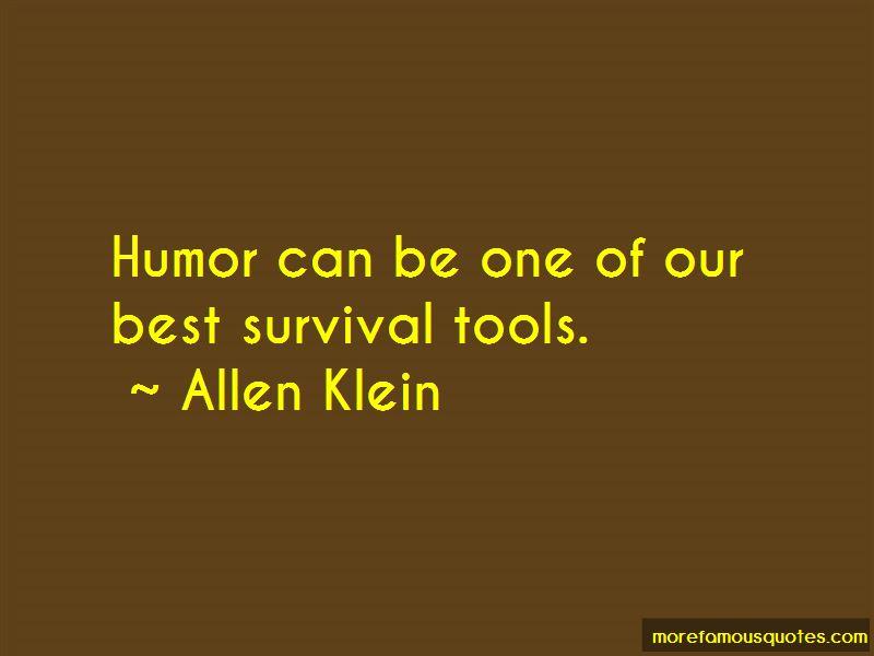 Allen Klein Quotes Pictures 4