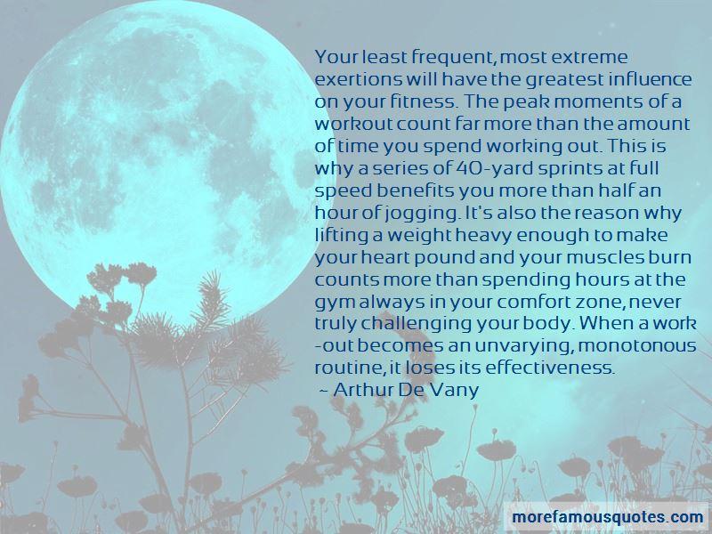 Arthur De Vany Quotes
