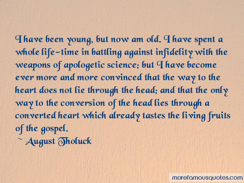 August Tholuck Quotes Pictures 2