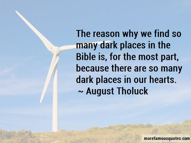 August Tholuck Quotes