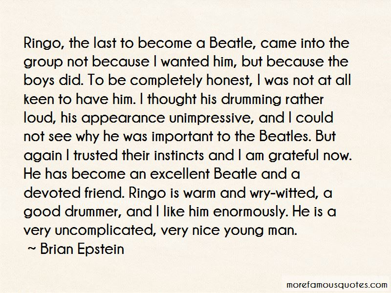 Brian Epstein Quotes Pictures 2