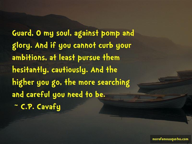 C.P. Cavafy Quotes