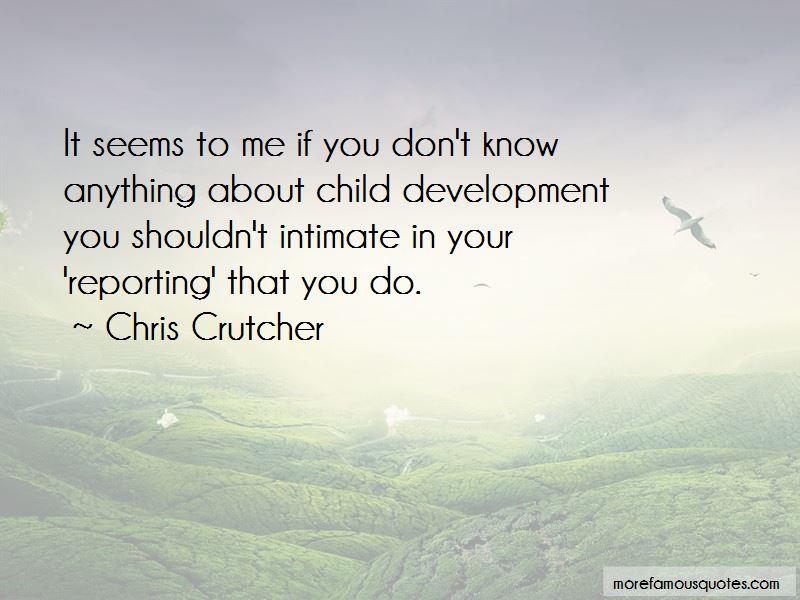 Chris Crutcher Quotes Pictures 4