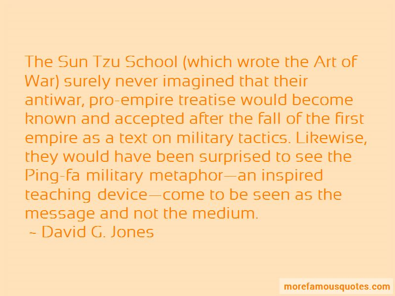 David G. Jones Quotes