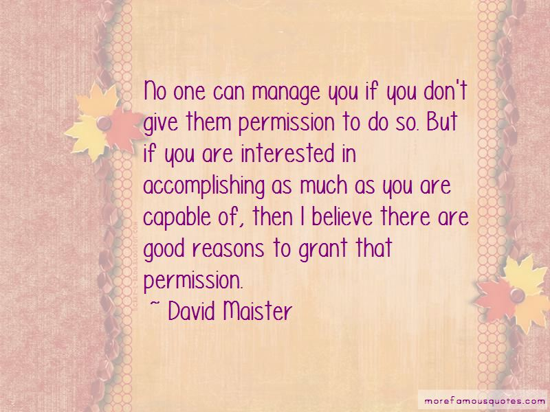 David Maister Quotes Pictures 2