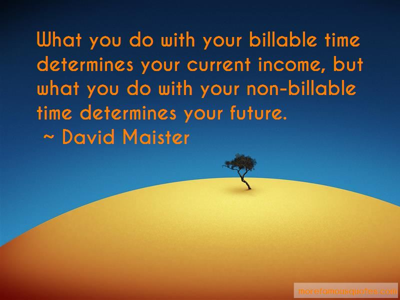 David Maister Quotes Pictures 4