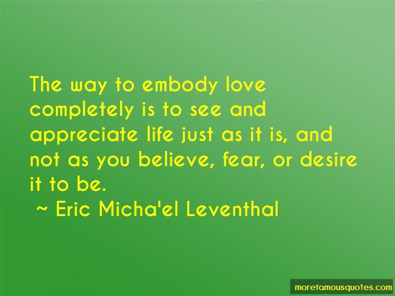 Eric Micha'el Leventhal Quotes Pictures 4