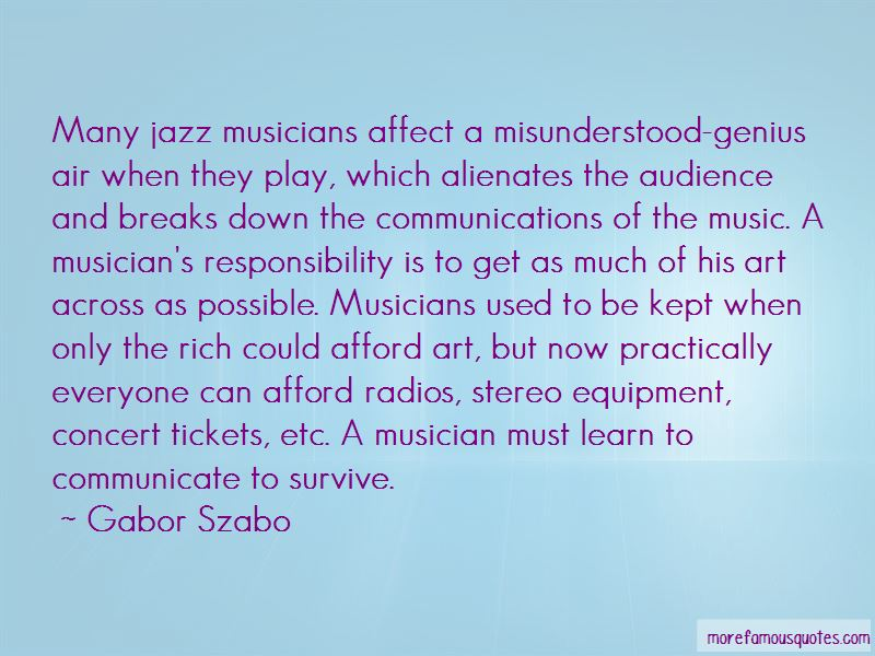 Gabor Szabo Quotes