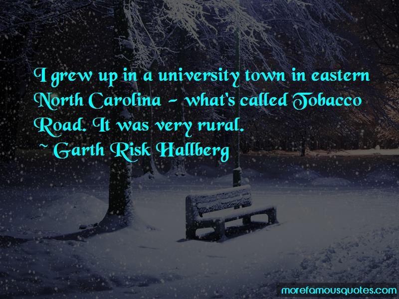 Garth Risk Hallberg Quotes Pictures 4