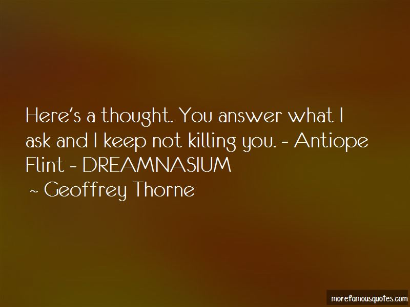 Geoffrey Thorne Quotes Pictures 2