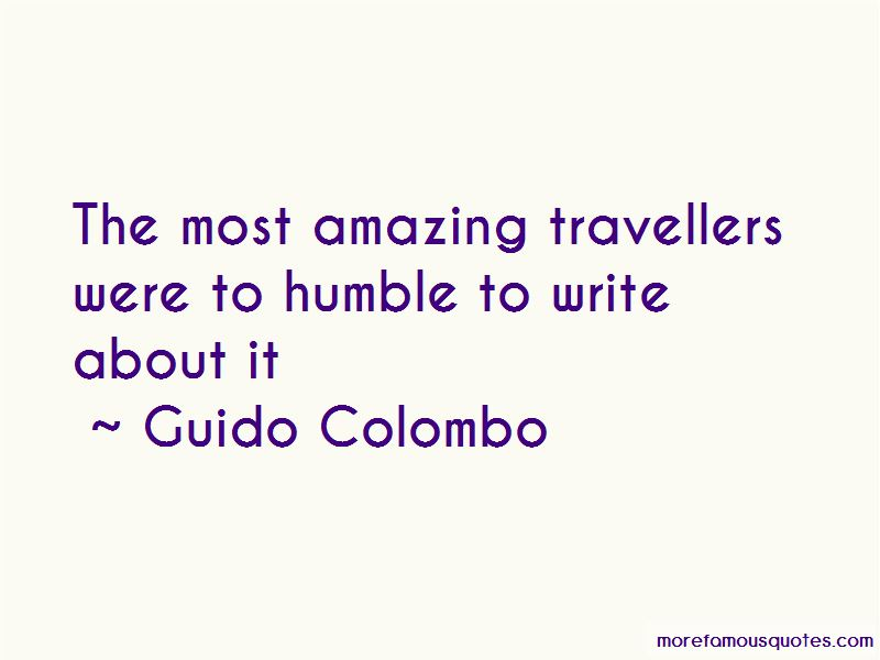 Guido Colombo Quotes Pictures 2