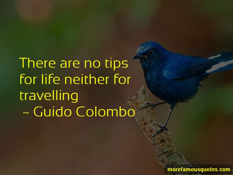 Guido Colombo Quotes