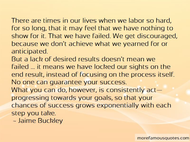 Jaime Buckley Quotes