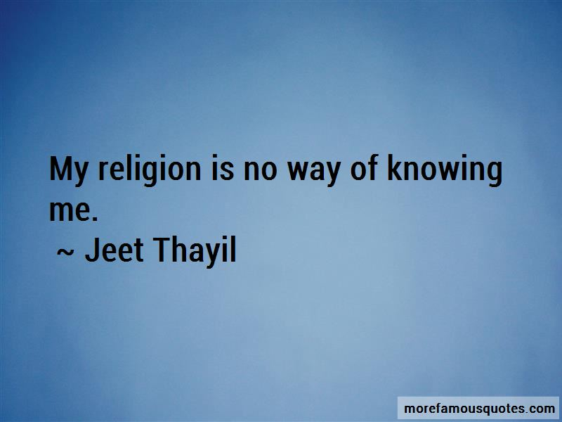 Jeet Thayil Quotes Pictures 2