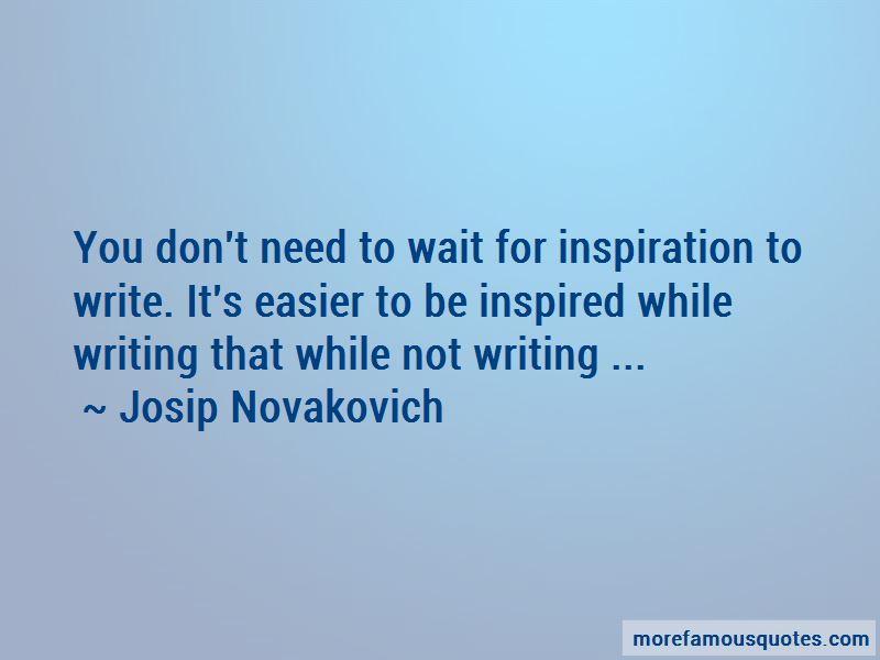 Josip Novakovich Quotes Pictures 2