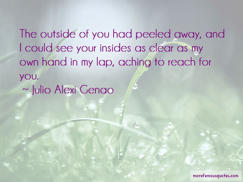 Julio Alexi Genao Quotes Pictures 3