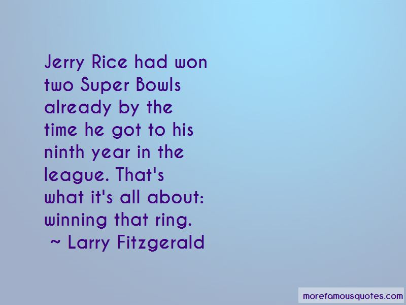 Larry Fitzgerald Quotes Pictures 4