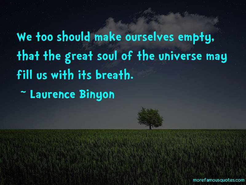 Laurence Binyon Quotes Pictures 3