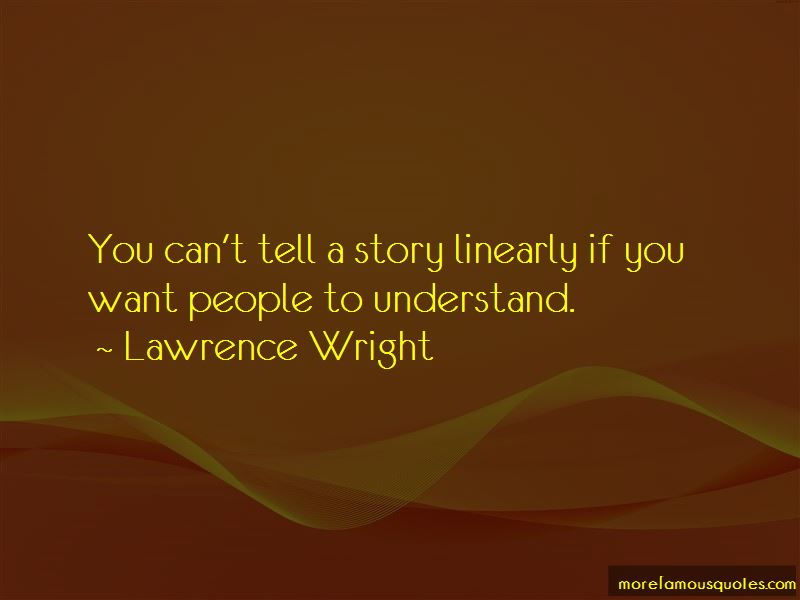 Lawrence Wright Quotes Pictures 4