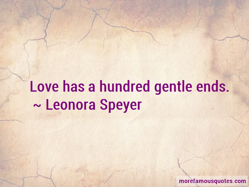Leonora Speyer Quotes Pictures 2