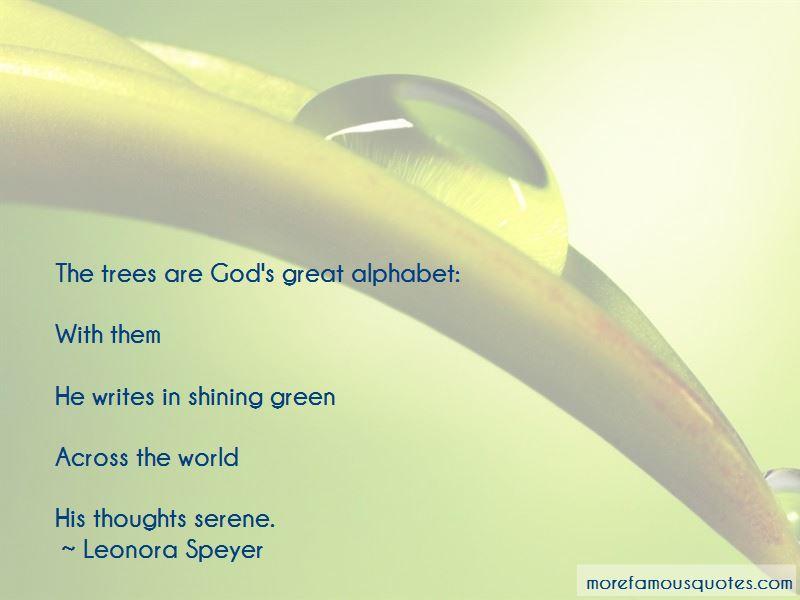 Leonora Speyer Quotes Pictures 3