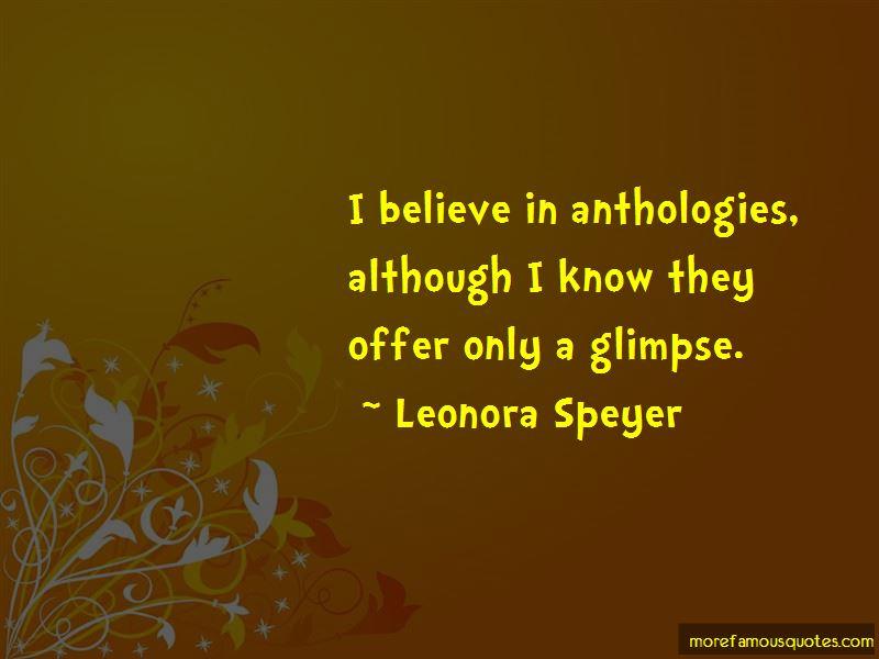 Leonora Speyer Quotes Pictures 4