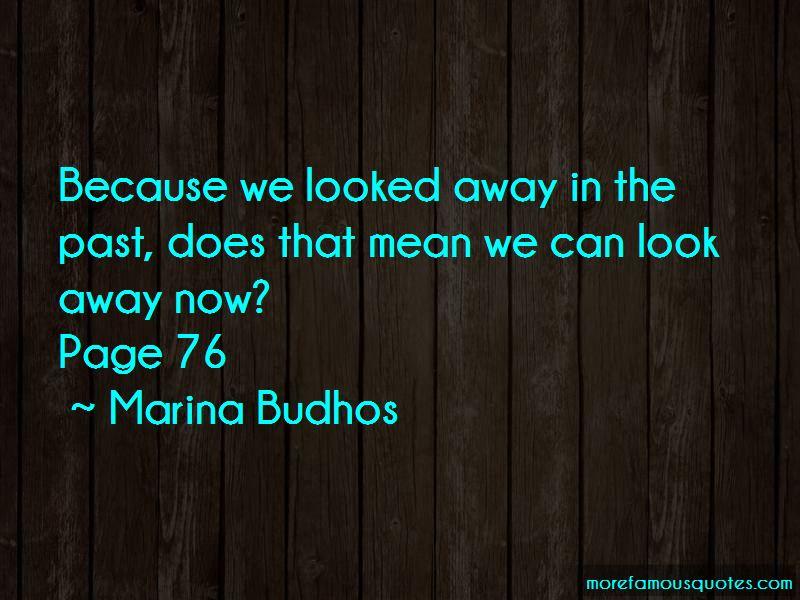 Marina Budhos Quotes