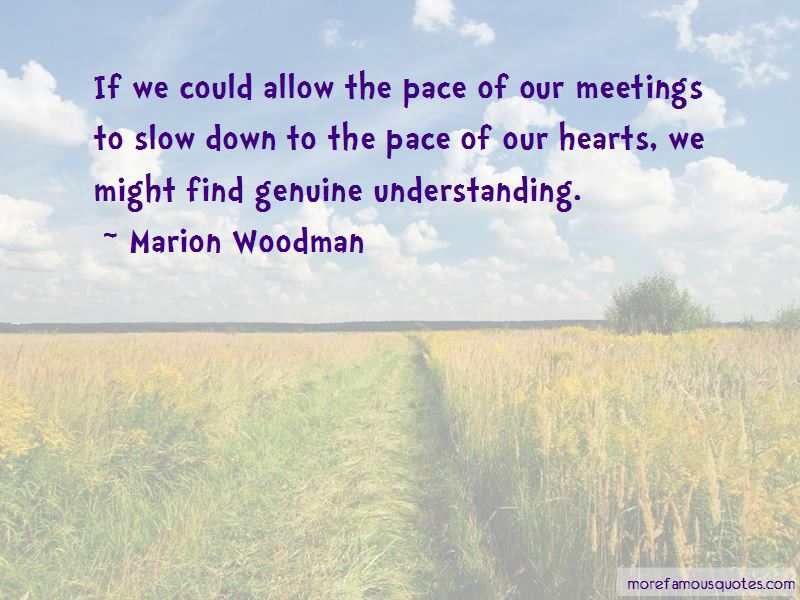 Marion Woodman Quotes