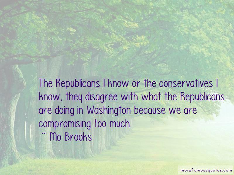 Mo Brooks Quotes