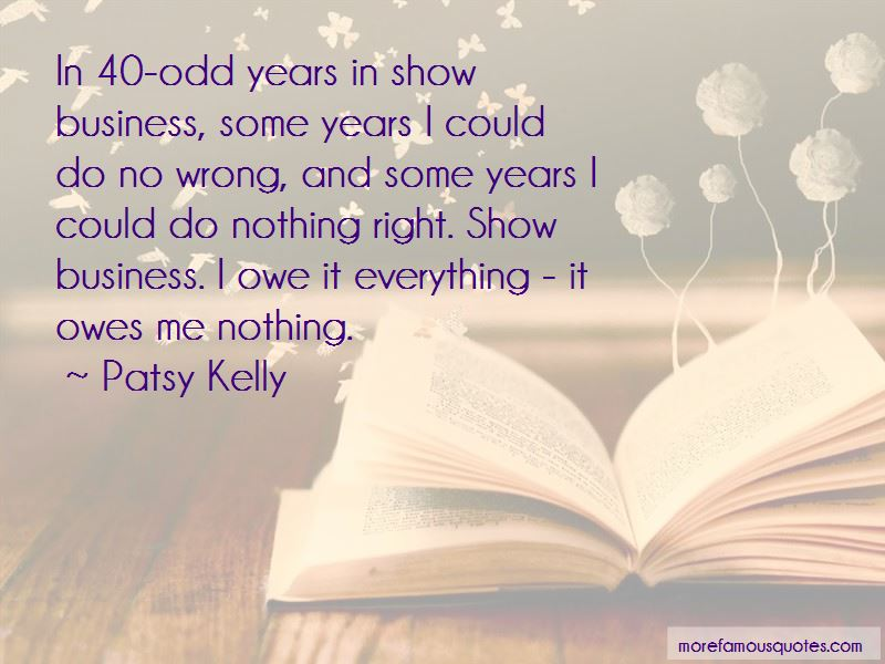 Patsy Kelly Quotes Pictures 3