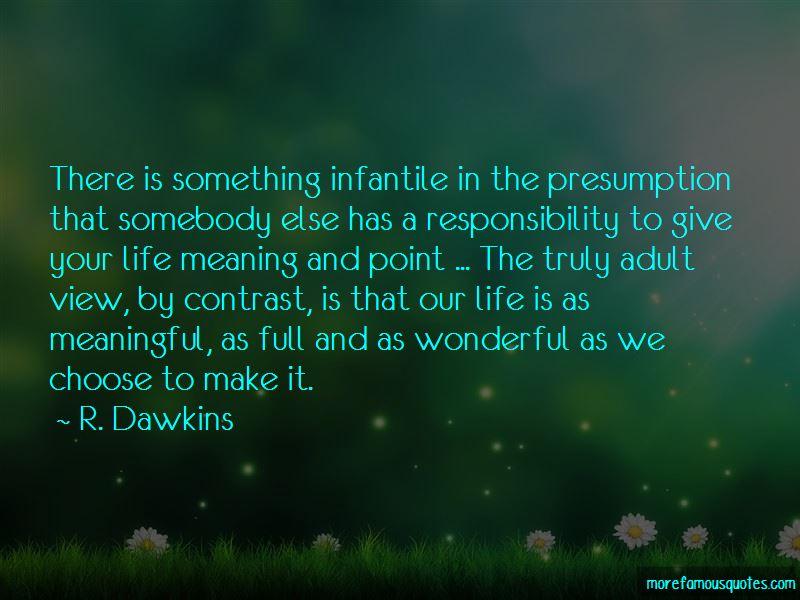 R. Dawkins Quotes