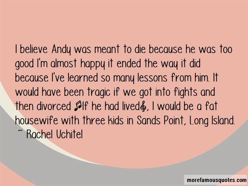Rachel Uchitel Quotes