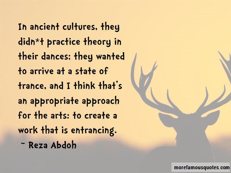 Reza Abdoh Quotes