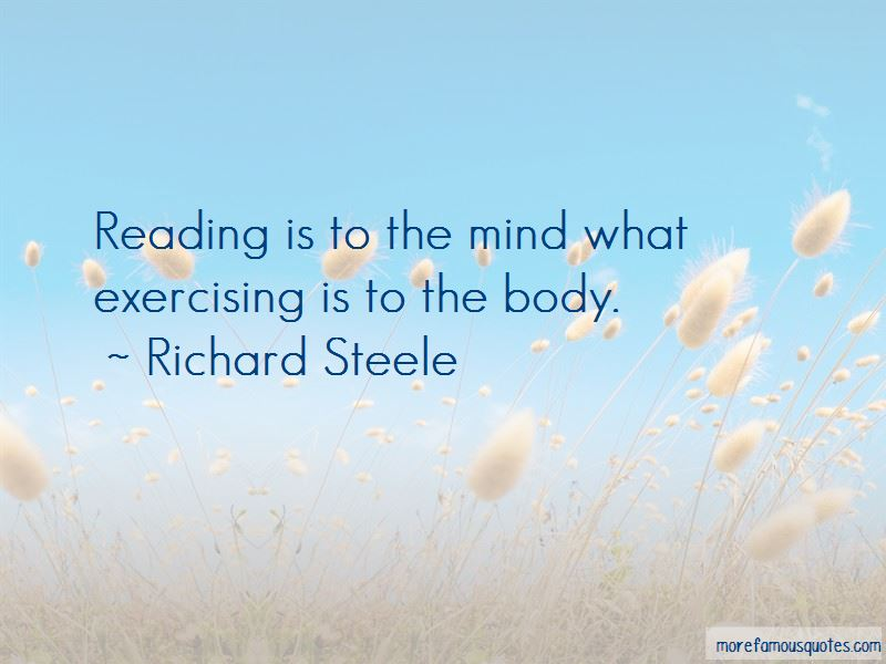 Richard Steele Quotes Pictures 2