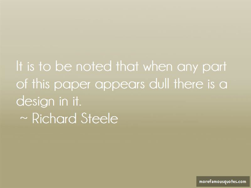 Richard Steele Quotes Pictures 3