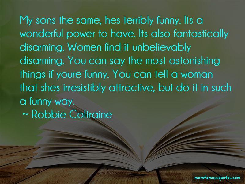 Robbie Coltraine Quotes Pictures 3