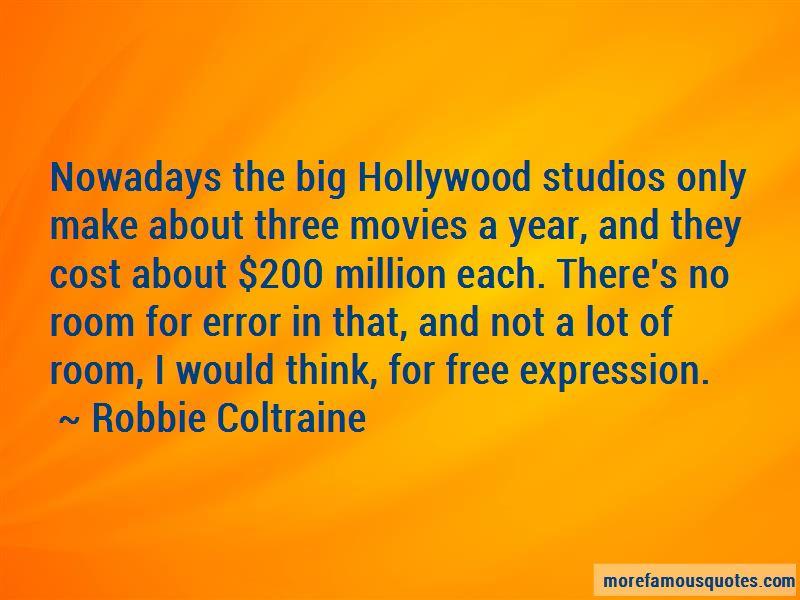 Robbie Coltraine Quotes
